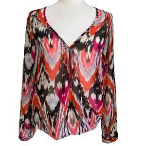 Vero moda v-neck wrap style blouse